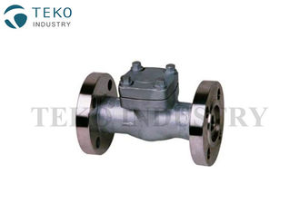 China High Pressure Check Forged Steel Valves Piston Type Swing Type In ASTM A182 F304 F316 supplier