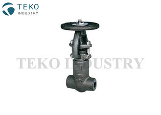 China Pressure Seal Bonnet A105N Forged Steel Globe Valve With NACE MR0175 Material supplier