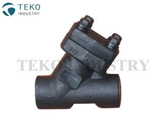 China Y Type Stainer Filter Forged Steel Valves Screwed Weld End A105 800LB Pressure supplier