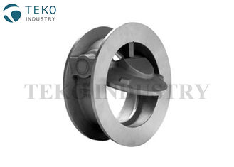 China Single Disc Wafer Check Valve , Short Pattern Stainless Steel Check Valve For Oil supplier