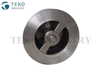 China Lift Type Wafer Spring Loaded Check Valve With Inconel Spring Preventing Local Wear supplier