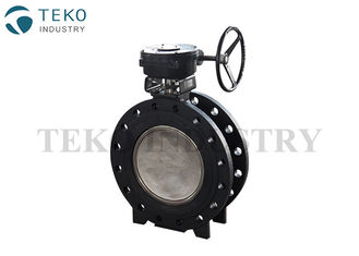 China Flange End Carbon Steel Butterfly Valve Lever Operation For High Pressure Water supplier