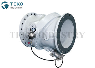 China Tilted Disc Industrial Check Valve Minimum Pressure Loss With Oil Dashpot For Water supplier