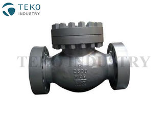 China Piston Lift Industrial Check Valve ASME B16.34 API6D For Pulsating Flow Service supplier