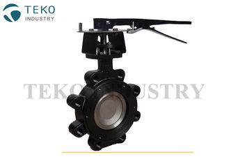 China Double Eccentric Butterfly Valve Monel Seat Exchangeable For Petro Chemical supplier