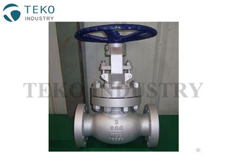 China Live Load Packing Gland BS 1873 Globe Valve , BB Bolted Bonnet Globe Valve For Chemical Plant supplier