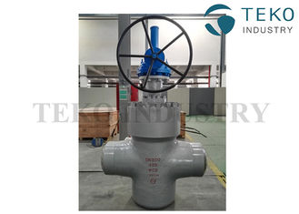 China High Pressure Double Disc Through Conduit Gate Valve Self Relieving Function For Petroleum supplier
