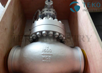 China A216 WCB Carbon Steel Body Flanged End BS 1873 Globe Valve Plug Type Disc 150Lb ~ 2500Lb supplier