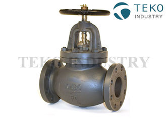 China ABS Certified 10K JIS Marine Valve , Ductile Iron Bronze Trim Non - Rising Stem Globe Valve F7307 supplier