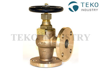 China Standard Pressure JIS Marine Valve Brass JIS 5K F7302 Cast Bronze With DNV Certificate supplier