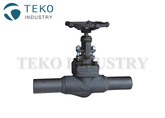 China Pressure Seal Solid Wedge High Pressure Gate Valve With Weld End supplier