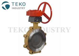 China Double Eccentric High Temperature Butterfly Valves With Lug Wafer End CE Certificate supplier