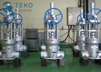 China Butt Weld Wedge Gate Valve , Dynamic High Pressure Seal Parallel Double disc slide valve supplier
