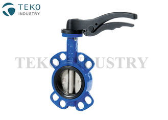 China Centerline API609 Butterfly Valve Easy Installation CF8M Disc SS Shaft With Soft Seat supplier