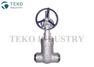 China Self - Tightening Sealing Wedge Gate Valve , High Pressure Gate Valve For Power Station supplier