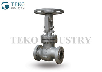 China Flanged End Cast Steel Globe Valve Plug Disc 50 mm To 600 mm For WOG Applications supplier