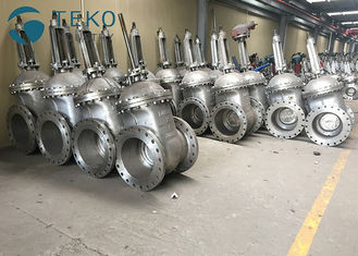 China API600 Trim Heavy Duty Metal Seated Wedge Gate Valve With Flange End supplier