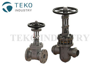 China Cast Steel Parallel Slid Metal Seated Gate Valve Bolted Bonnet DN15 - DN900 supplier