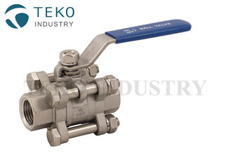 China 800Lb Socket Weld End Ball Valve Stainless Steel For Oil Gas Low Operating Torque supplier