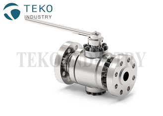China TFM1600 Seat High Pressure Flange End Ball Valve For Oil & Gas API 6D supplier