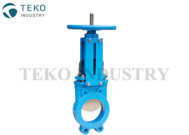 Bi - Direction Shutoff Wafer End Valve Ductile Iron Zero Leakage For Ash And Coal