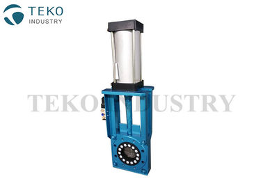Heavy Duty Flanged End Valve Fiber Corded Seat Manual Operation For Sand And Gravel