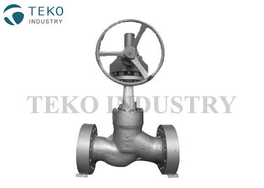 BW End Flanged End High Pressure Globe Valve For High Temperature Conditions