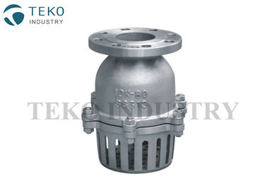 Carbon Steel Swing Type JIS Valve Face to Face Standard WCB Material For Pumping System